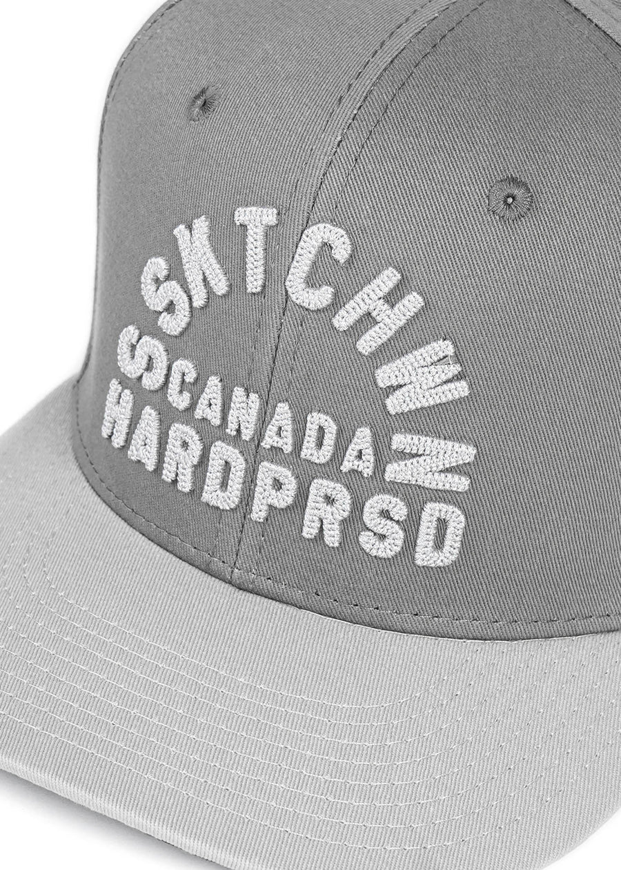 SSKTCHWN CA Snapback | Nickel grey