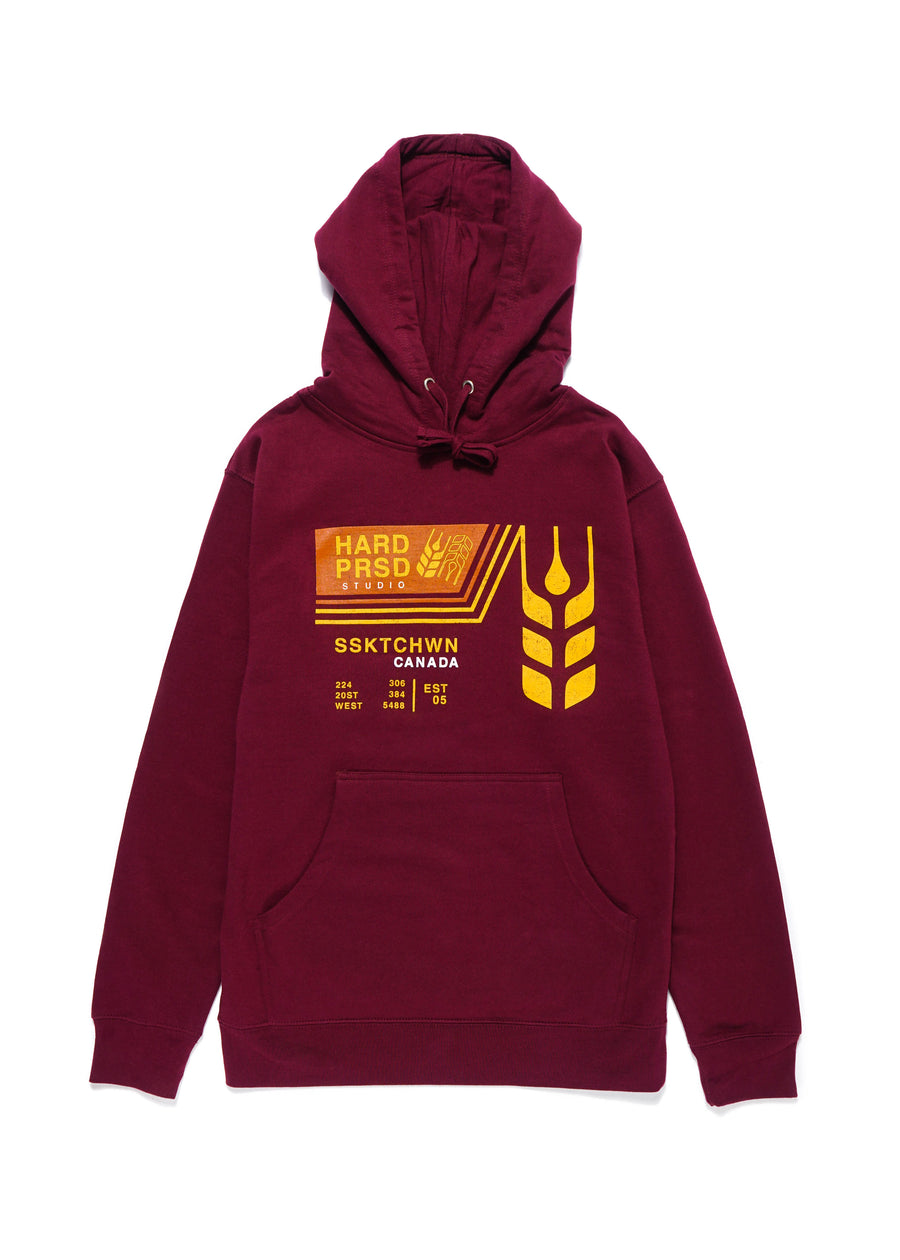 Grain Car Sweater | Maroon | Unisex