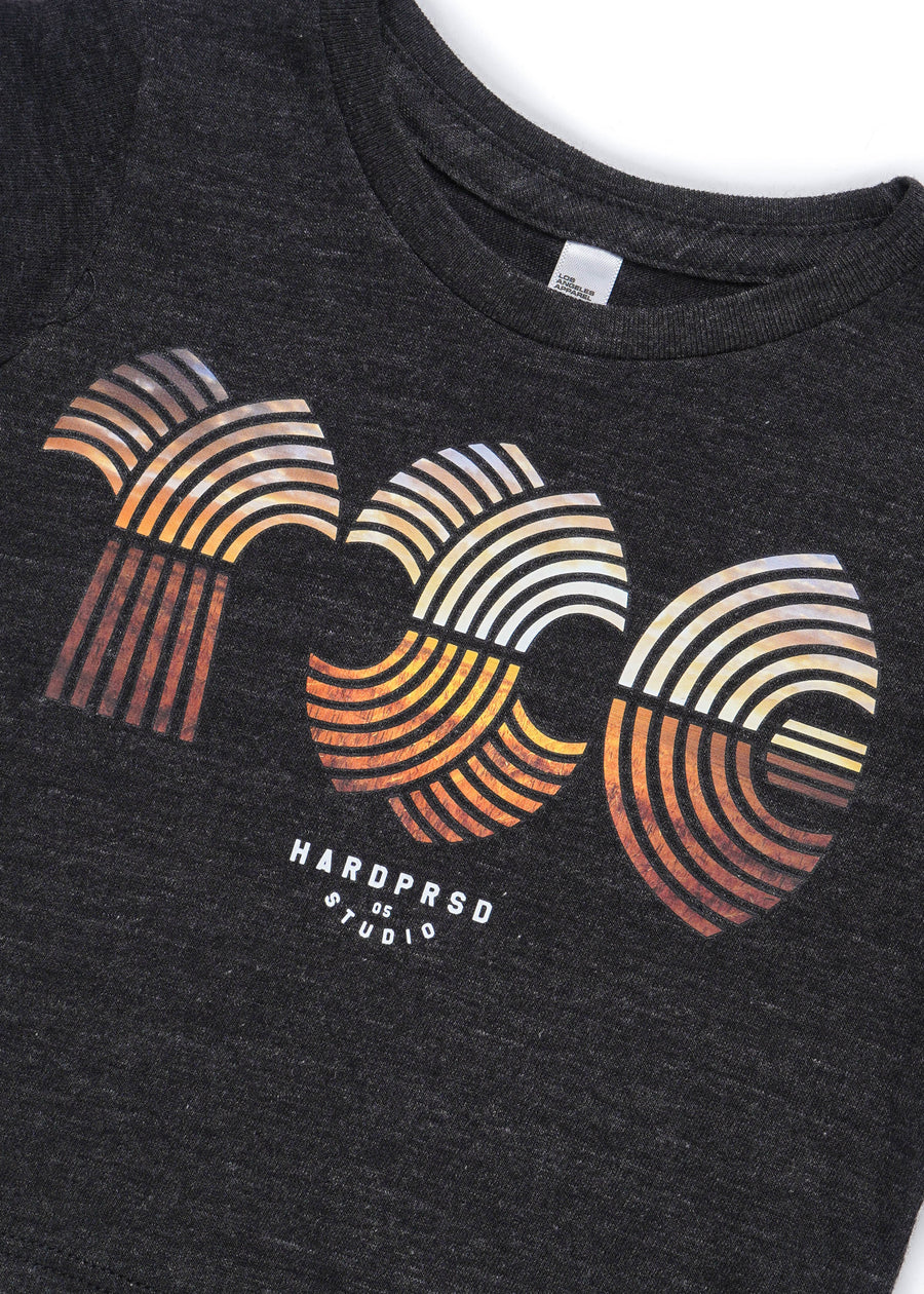 YXE Horizon Tee | Tri-Black | Kids