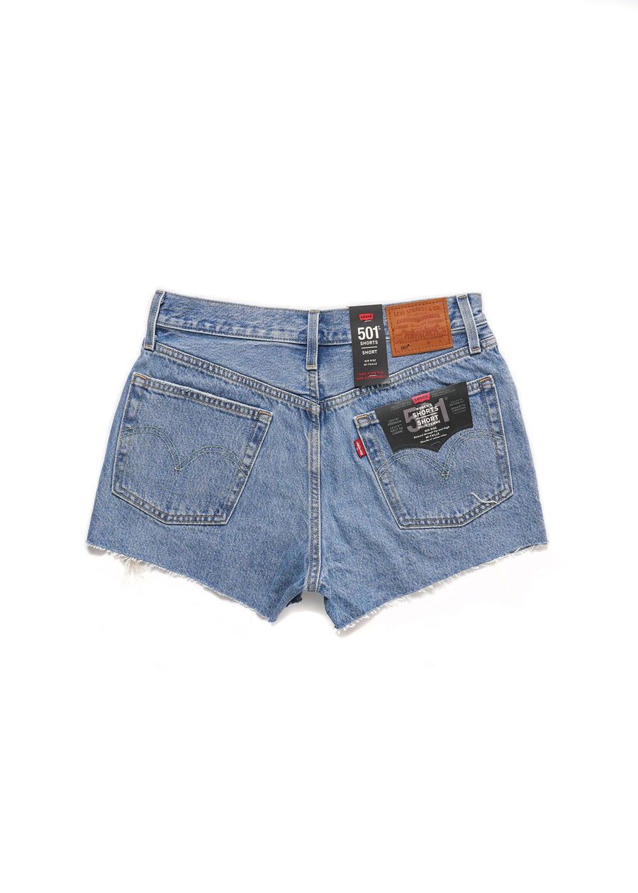 Levi's - 501® Destructed Short - Luxor Light