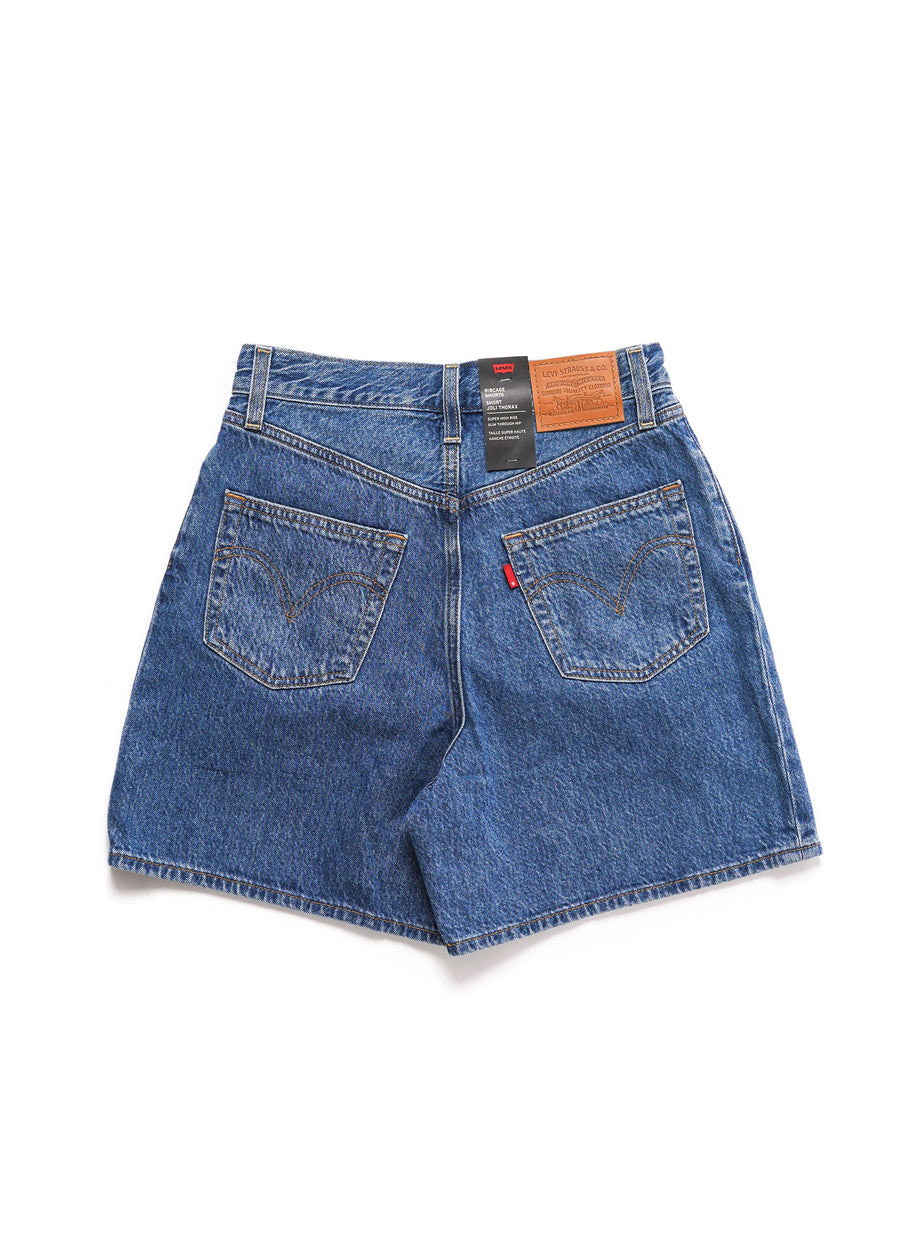 Levi's - Pleated Ribcage Short - Now and Then