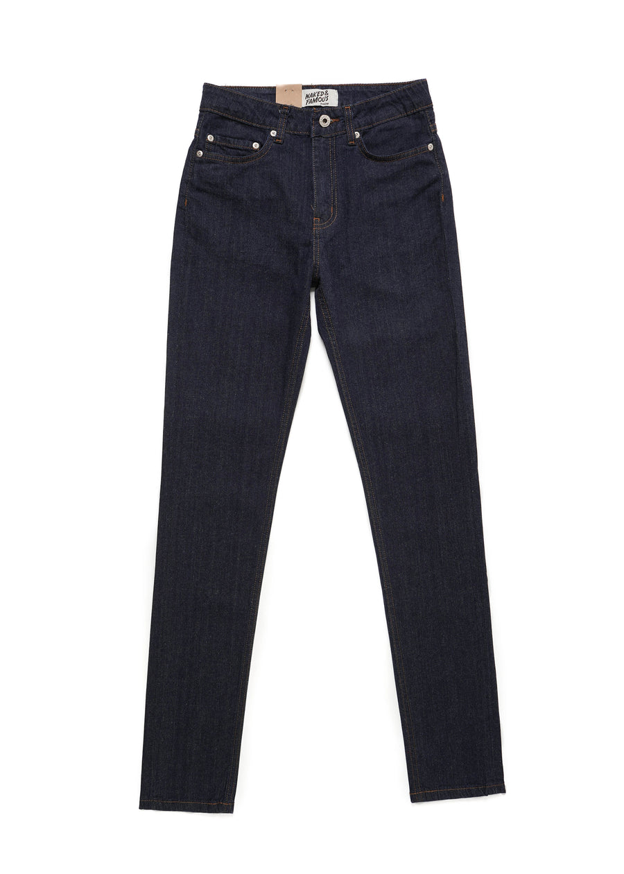 Naked & Famous Denim - High Skinny - Whisper Stretch Denim - Hardpressed Print Studio