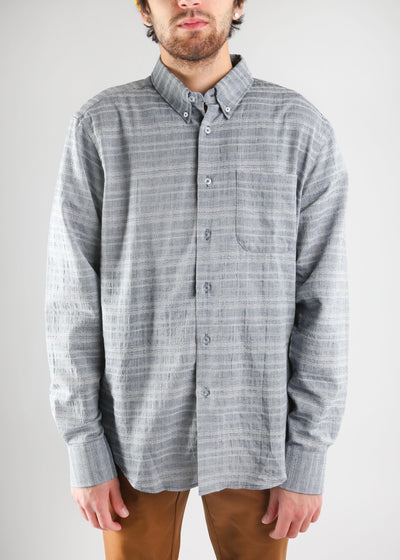 Naked & Famous Denim - Regular Shirt - Dobby Chambray
