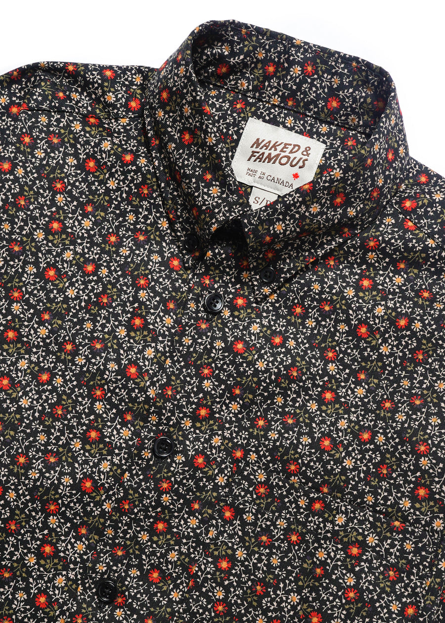 Naked & Famous Denim - Easy Shirt - Vintage Flowers