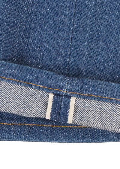 Naked & Famous Denim - The High Skinny - Stretch Selvedge Island Blue, Denim, Naked & Famous Denim, Hardpressed Print Studio