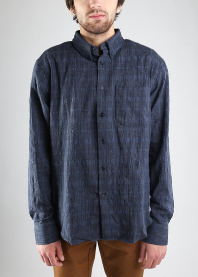 Naked & Famous Denim - Regular Shirt - Panama Check, Button Up Shirt, Naked & Famous Denim, Hardpressed Print Studio