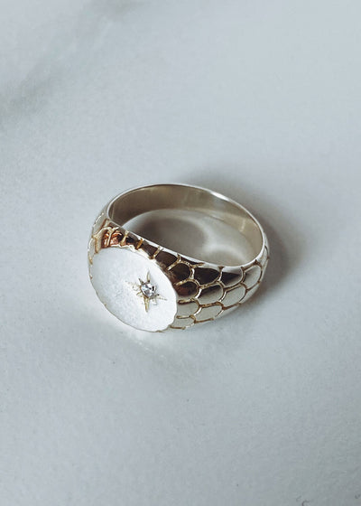 ONEIRO Designs - Serpent Signet Ring, Jewellery, Oneiro Designs, Hardpressed Print Studio
