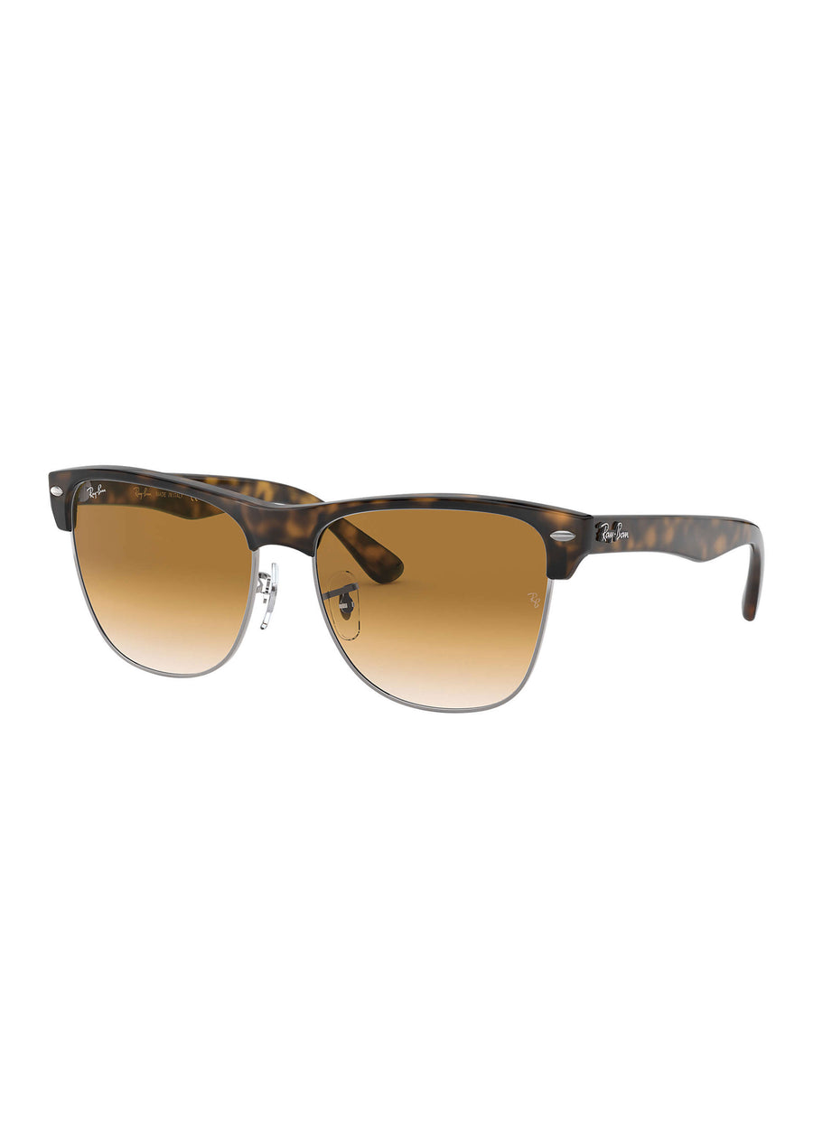 Ray Ban - RB4175 878/M2 - Clubmaster Oversized - Demi Gloss Havana, Sunglasses, Ray Ban, Hardpressed Print Studio