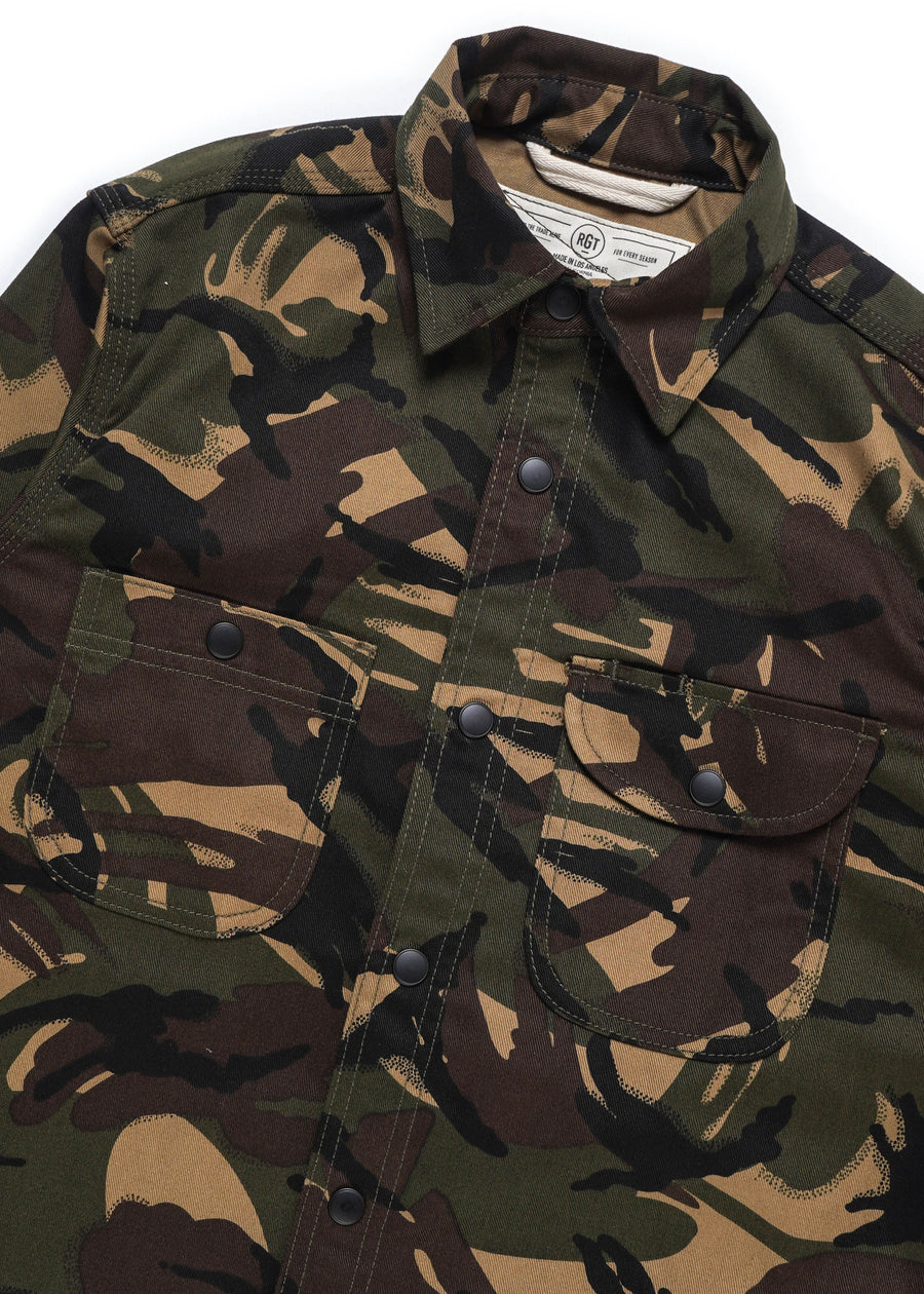 Rogue Territory - Work Shirt - Raf Camo - Hardpressed Print Studio