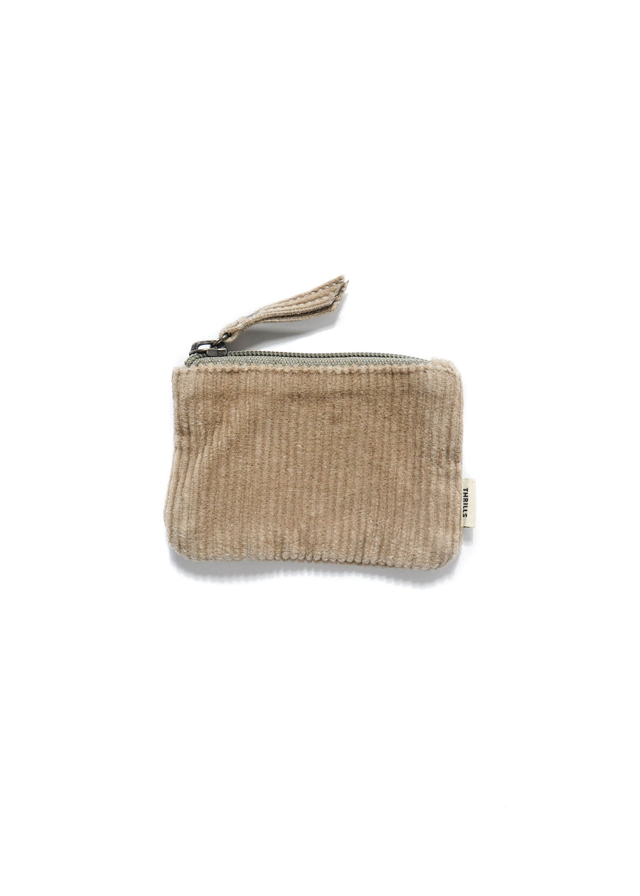 THRILLS - Cord Coin Pouch - Dusty Sage