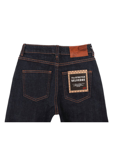 Naked & Famous Denim - The High Skinny - 11oz Stretch Selvedge, Denim, Naked & Famous Denim, Hardpressed Print Studio