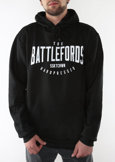 The Battlefords Sweater | Black | Unisex, Sweatshirts, Hardpressed Print Studio, Hardpressed Print Studio