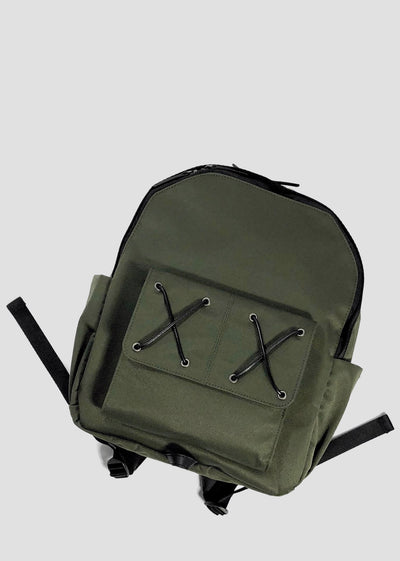 VENQUE - Cross the Street - Army Green, Bags, Venque Craft Co, Hardpressed Print Studio