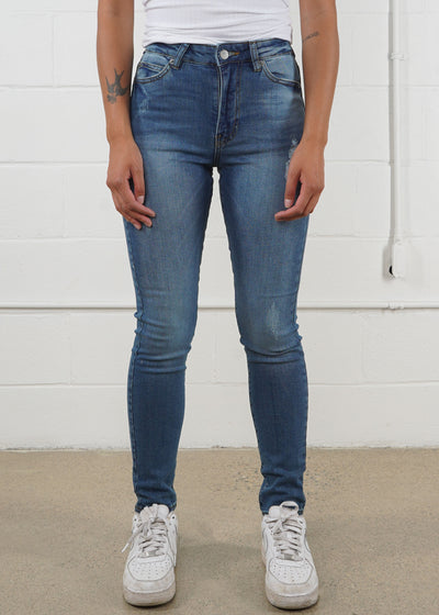 DR DENIM - Erin - Railroad Blue