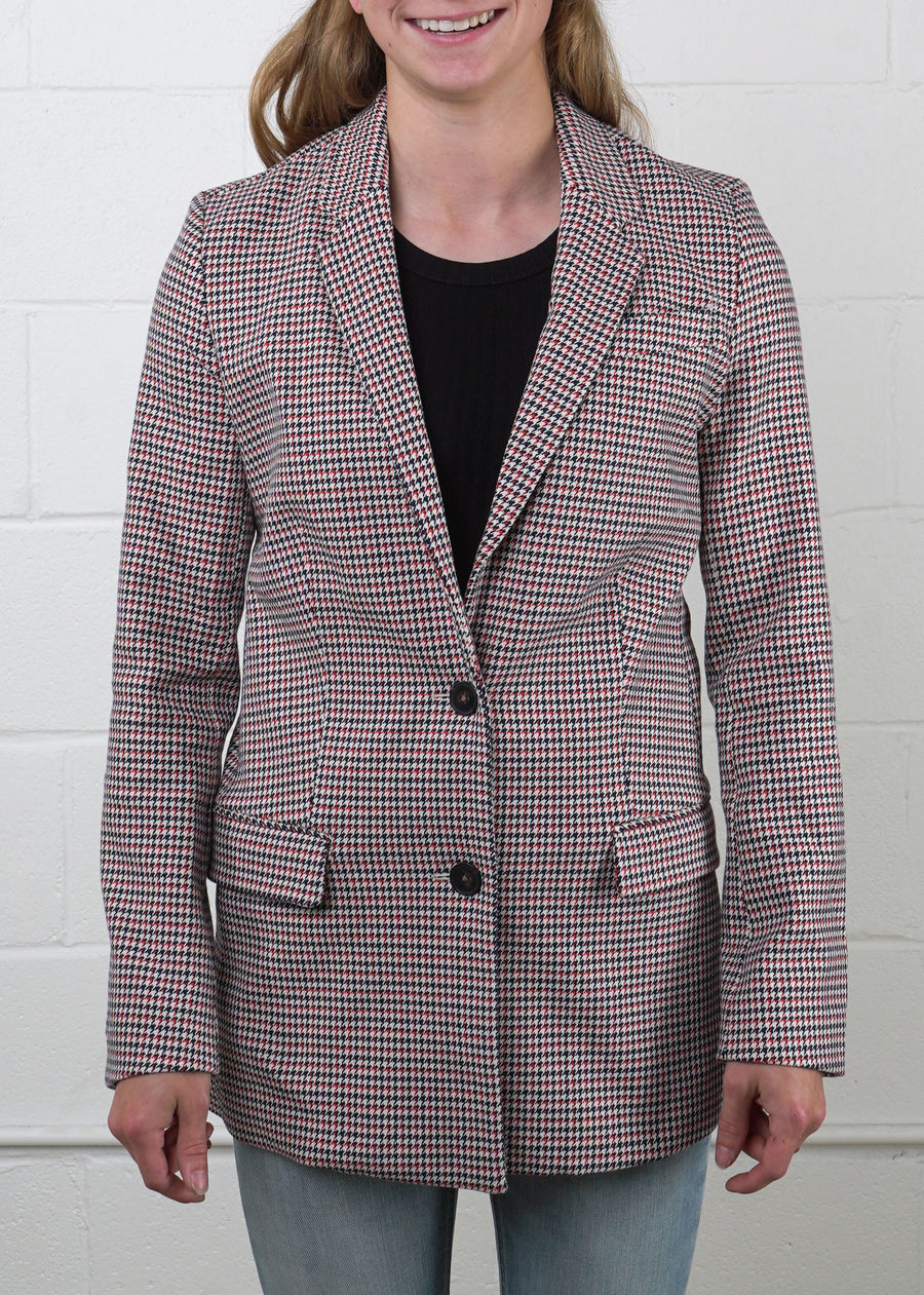 Frank And Oak - Houndstooth Blazer, Jackets, Frank And Oak, Hardpressed Print Studio