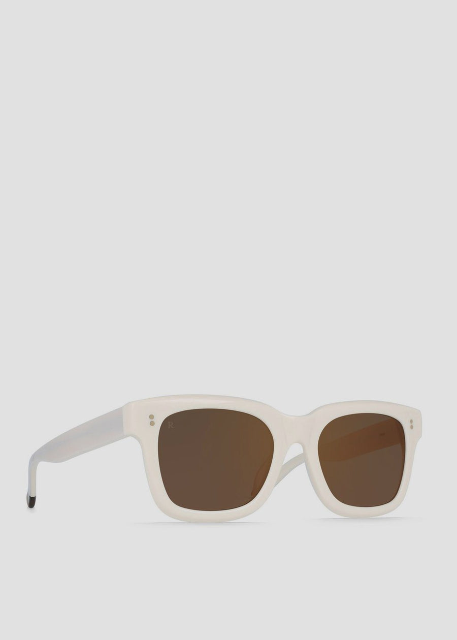 RAEN - Gilman Bone Brown/Rose Mirror, Sunglasses, RAEN, Hardpressed Print Studio