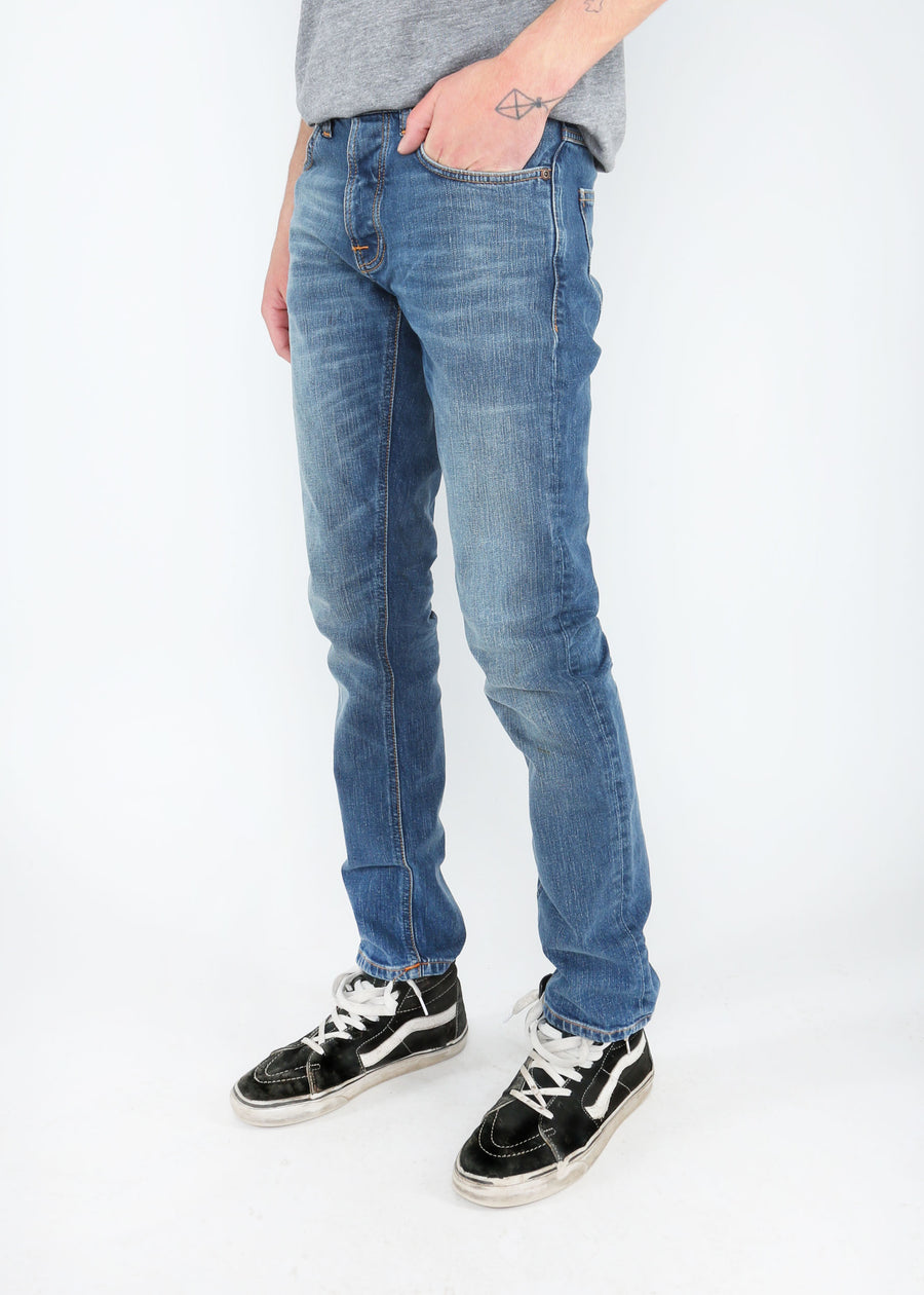 Nudie Jeans Co. - Grim Tim - Mid Authentic Indigo