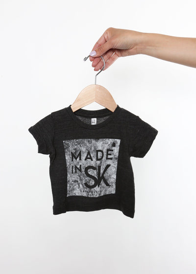 Made in SK Tee v4 | Tri-Black | Kids, Kids Shirts, Hardpressed Print Studio, Hardpressed Print Studio