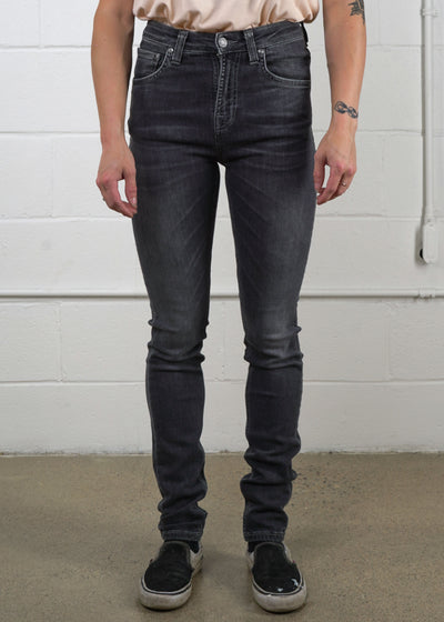 Nudie Jeans Co. - Hightop Tilde - Concrete Black, Denim, Nudie Jeans Co., Hardpressed Print Studio