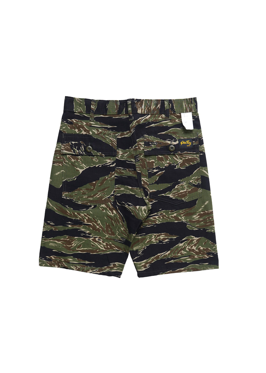 Stan Ray - Fatigue Short - Green Tigerstripe