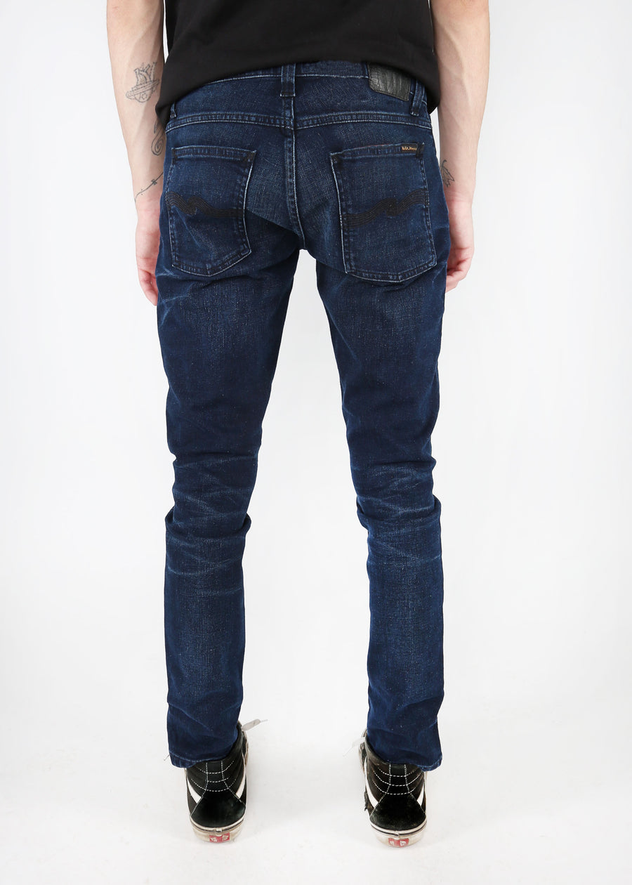 Nudie Jeans Co. - Tight Terry - Worn Indigo Indigo