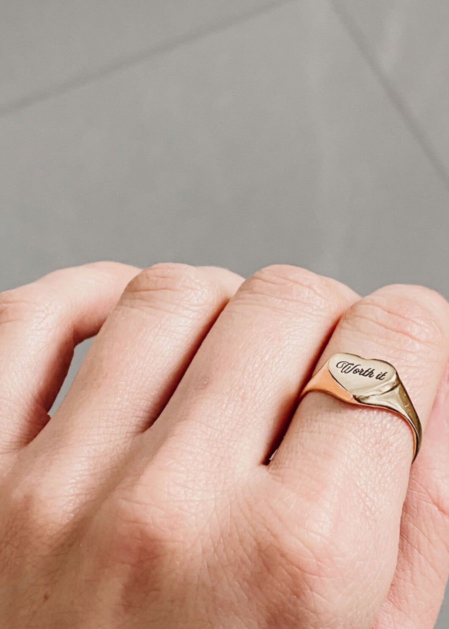 Oneiro Designs - Worth It Ring