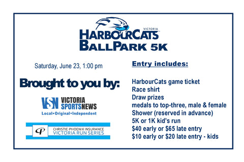 HarbourCats Ballpark 5K