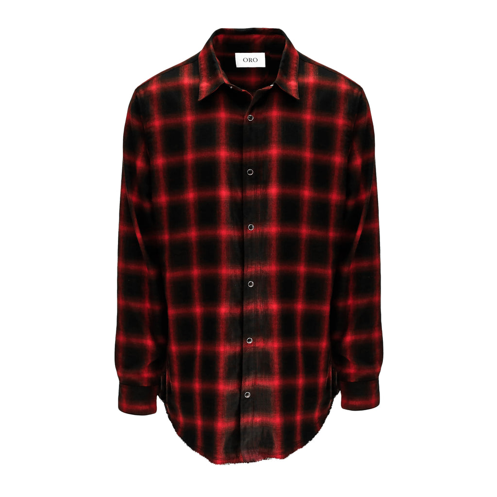 THE SCARLET FRAYED PLAID