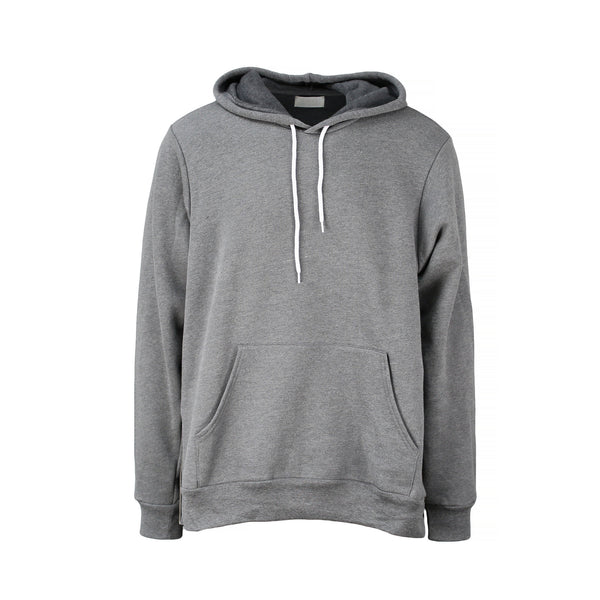 THE GRAY SIDE-ZIP HOODIE