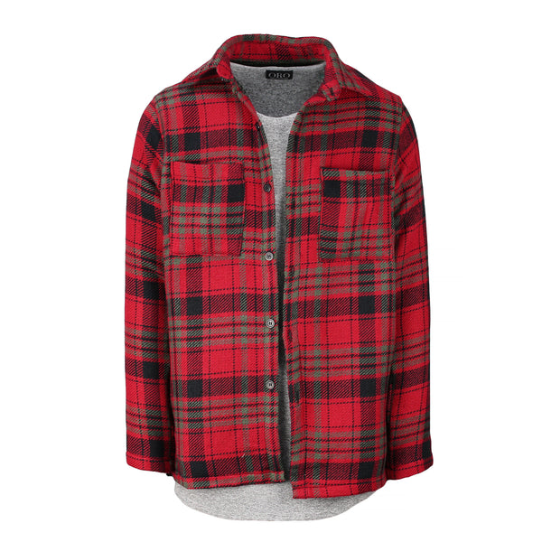 THE CARDINAL PLAID SHIRT - ORO Los Angeles - 1