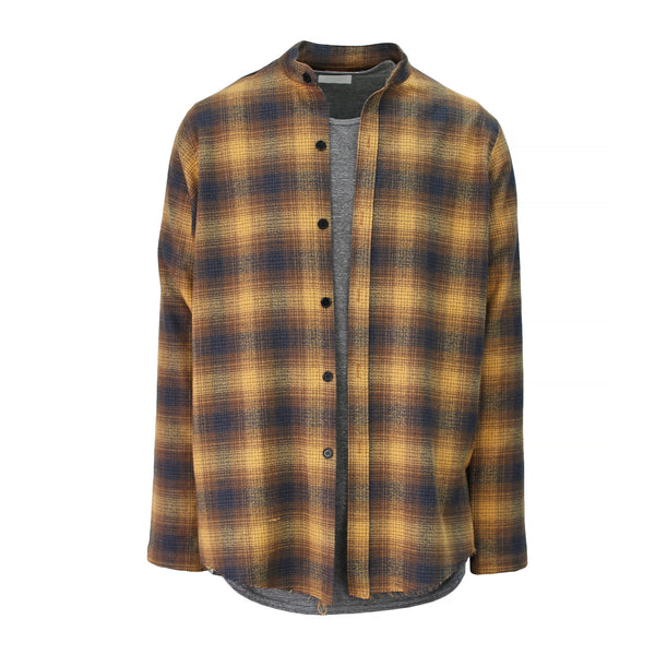 THE MAHOGANY BRUSH PLAID SHIRT - ORO Los Angeles - 1