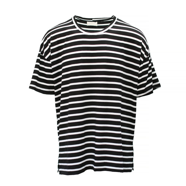 THE STRIPE DROP SHOULDER TEE