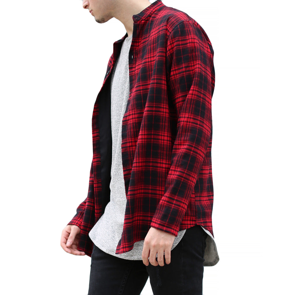 THE BUFFALO BRUSHED PLAID SHIRT - ORO Los Angeles - 2