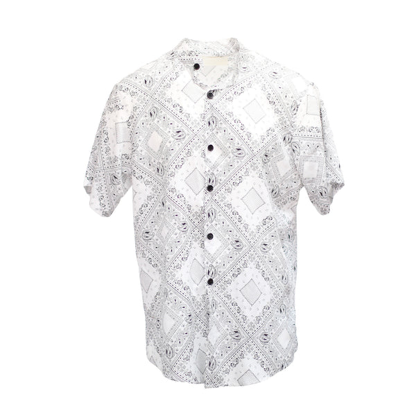 THE BANDANA SHIRT - WHITE