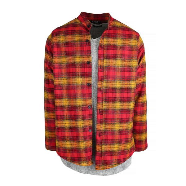 THE REDWOOD BRUSH PLAID SHIRT - ORO Los Angeles