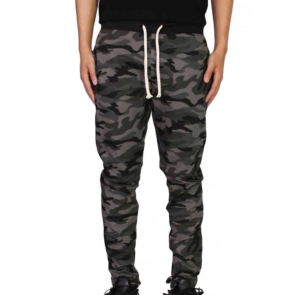 THE DRAWSTRING TROUSERS - CAMO