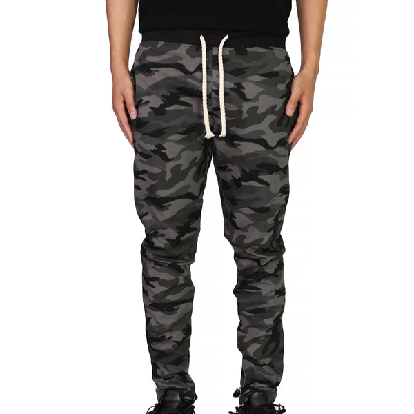 THE DRAWSTRING TROUSERS - CAMO - ORO Los Angeles