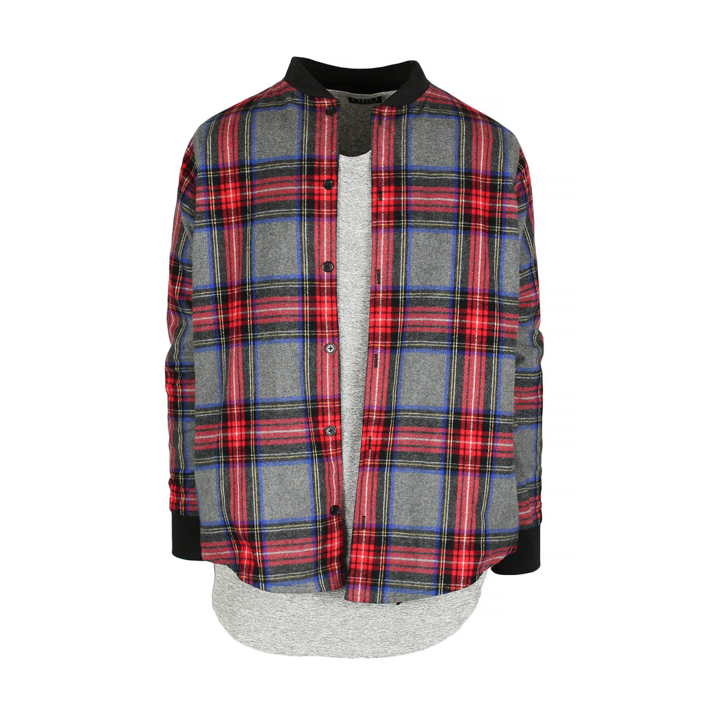 THE KYOTO BRUSH PLAID SHIRT - ORO Los Angeles