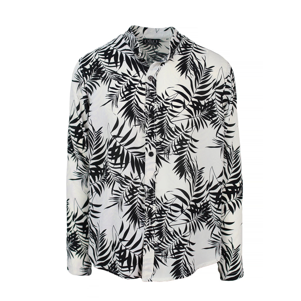 THE FEATHER TROPIC SHIRT - ORO Los Angeles