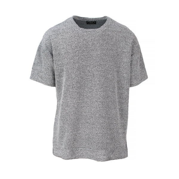 THE BOUCLE DROP SHOULDER TEE