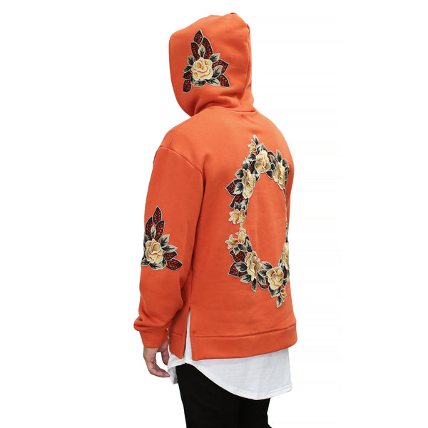 THE CALYPSO FLORAL HOODIE