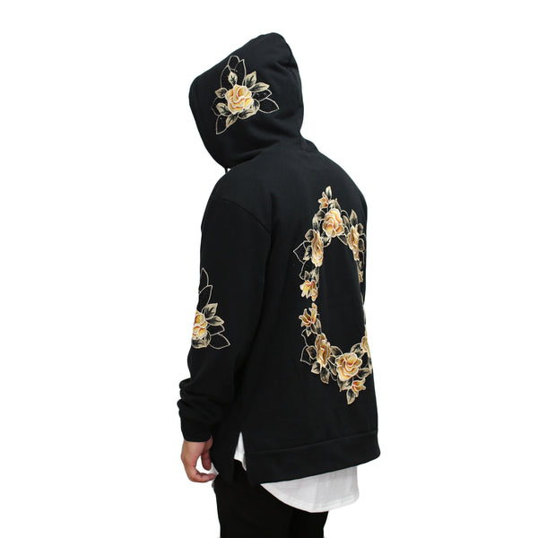 THE LUXE HOODIE - FLORAL