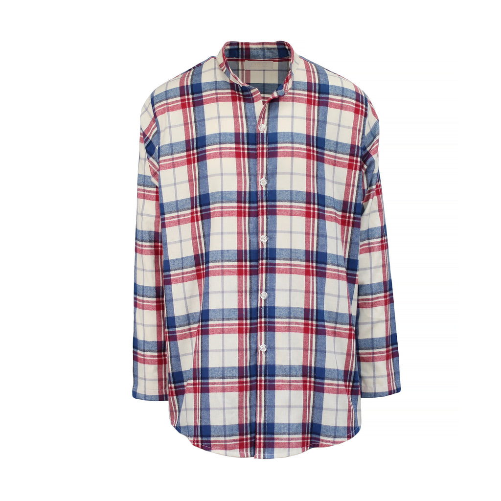 THE REIGN BRUSH PLAID SHIRT - ORO Los Angeles
