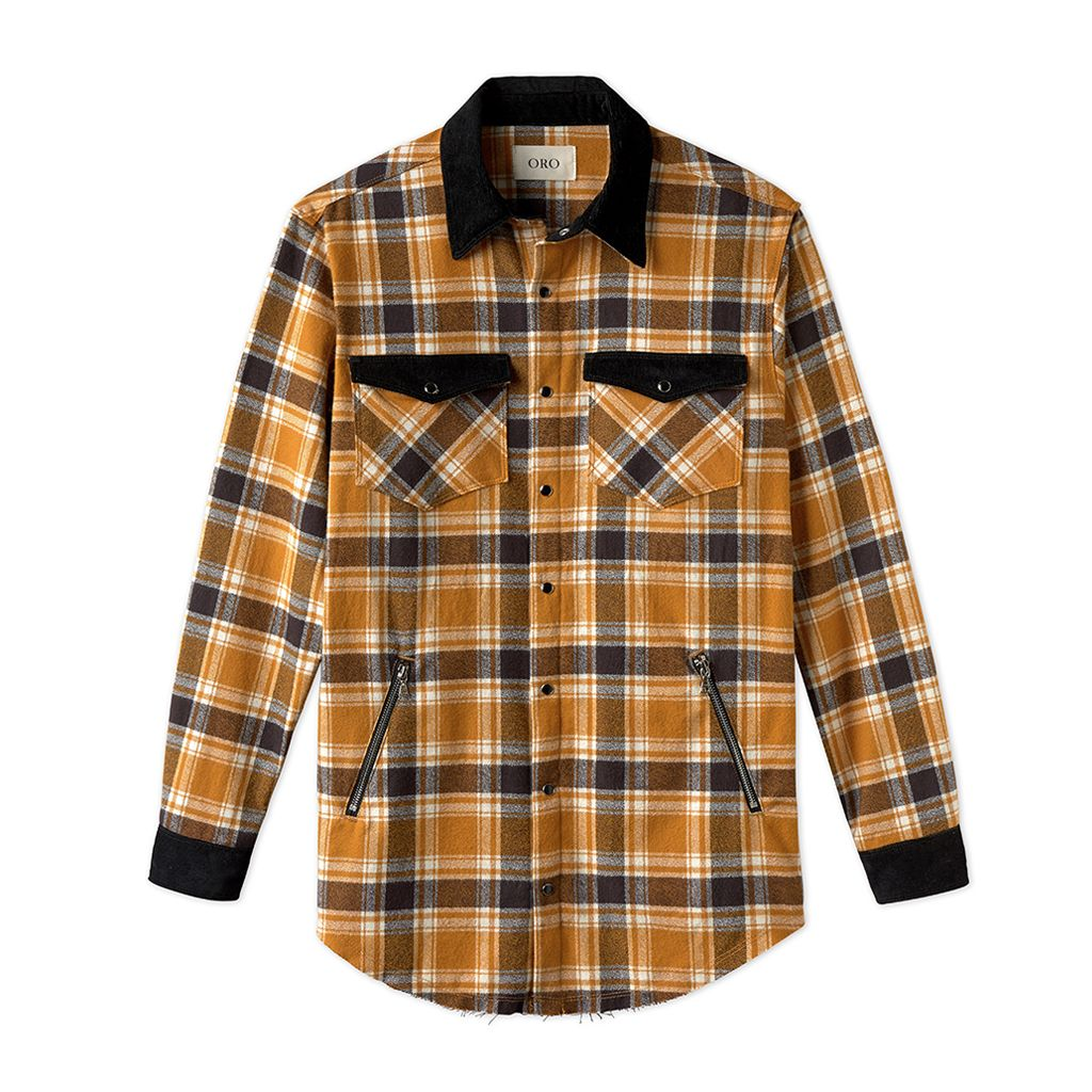 THE AMBER PLAID SHIRT
