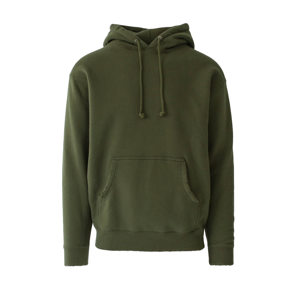 THE ARMY DISTRESSED HOODIE