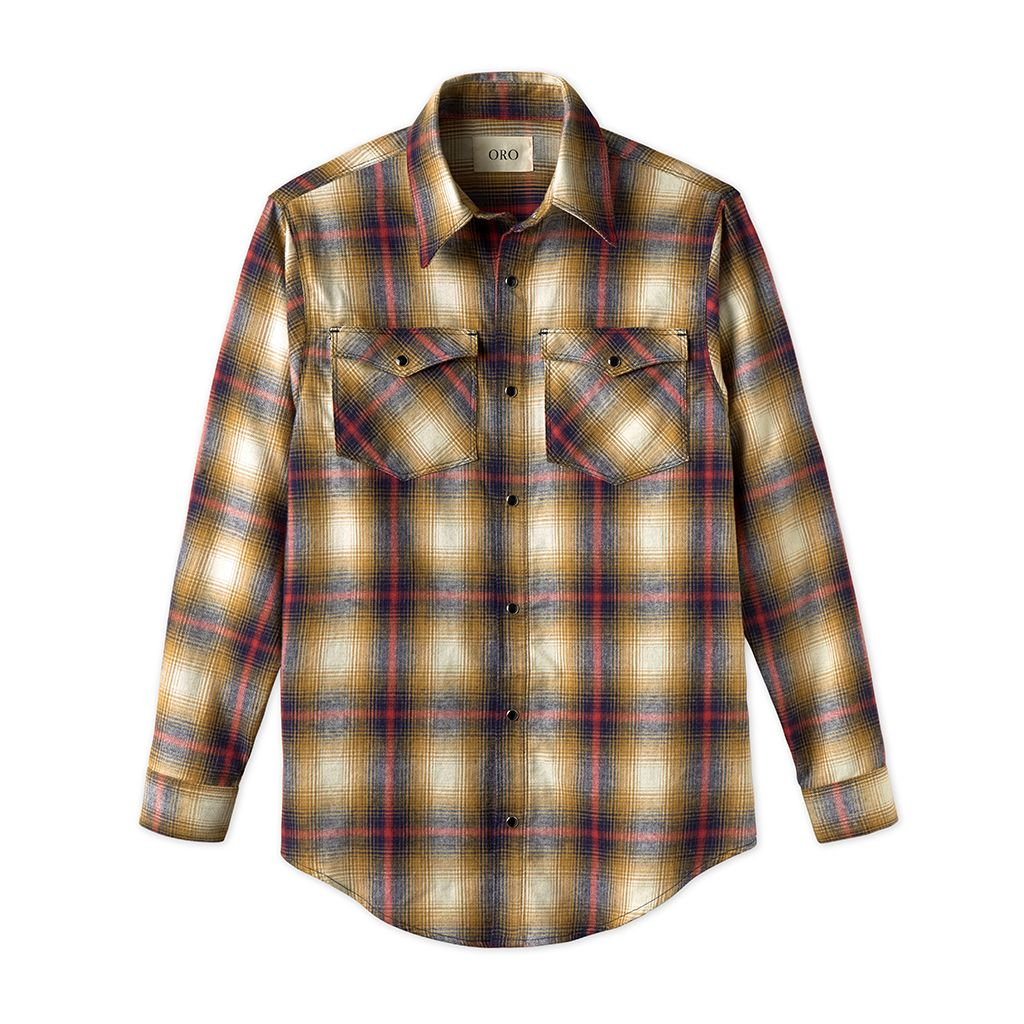 THE CAVA BRUSH PLAID SHIRT