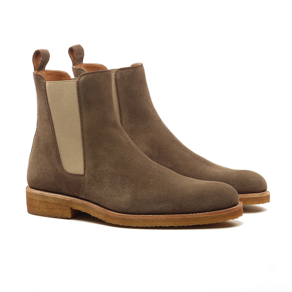 THE CEDAR CREPE CHELSEA BOOTS
