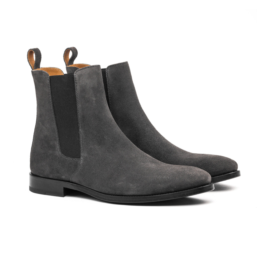 The Classic Grey Chelsea Boots Oro Los Angeles