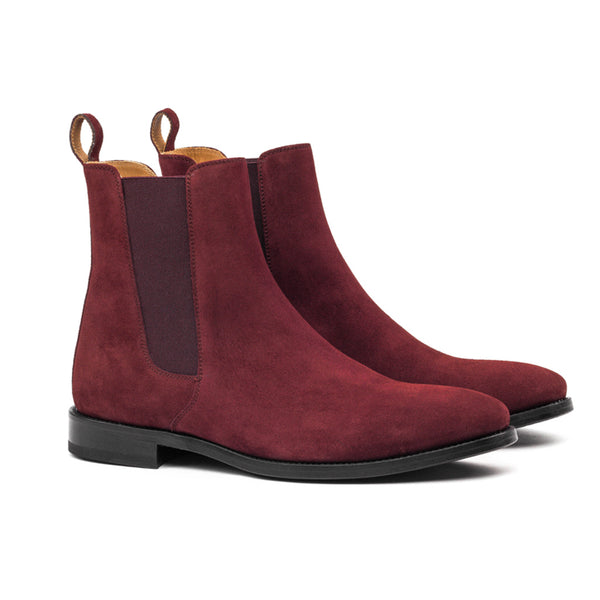 THE CLASSIC WINE CHELSEA BOOTS