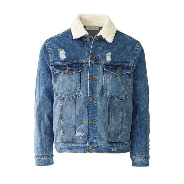 THE DESTROYED DENIM JACKET